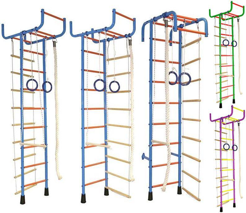 Г-образные комплексы (крепление враспор) Absolute Champion Домашний спортивный комплекс Альпинистик