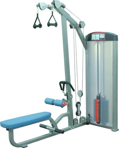 Тренажёры для мышц спины Aerofit IF8102, Тяга сверху / Гребля сидя, двойные рукоятки, 250 фунтов (113 кг)