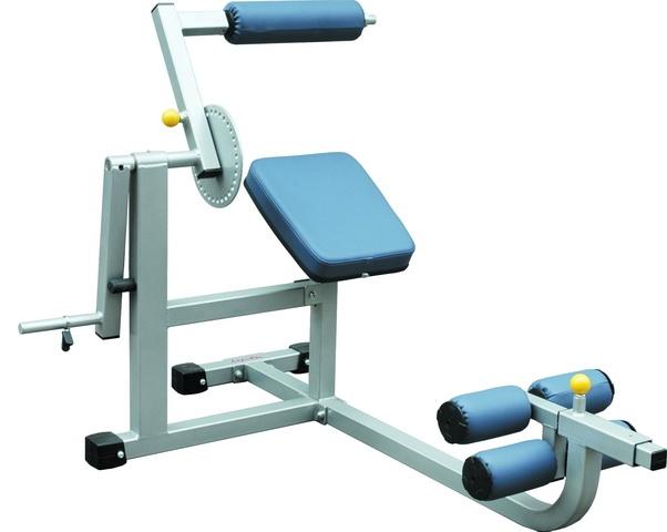 Тренажёры для мышц спины Aerofit IFABM, Тренажер, нагружаемый дисками, для спины и пресса