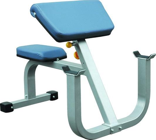 Тренажёры для мышц рук Aerofit IFSPC, Парта для бицепса (Скамья Скотта)