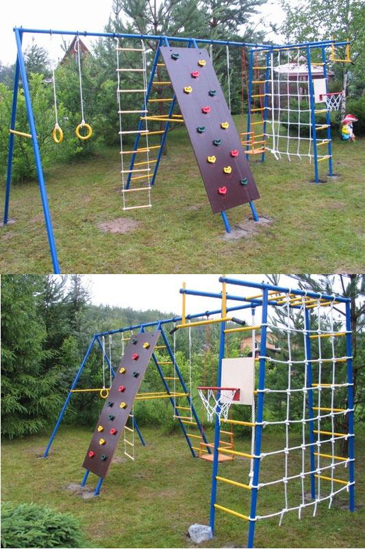 Металлические спортивно-игровые комплексы для установки на улице Детский Спорт (Городок) Уличный спортивный комплекс