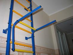 Навесное оборудование и дополнения для спортивных комплексов Детский Спорт (Городок) Турник-брусья №1 для спортивных комплексов