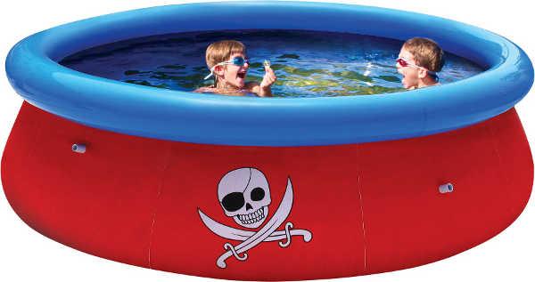 Бассейны и аксессуары для бассейнов BestWay 57243 Бассейн надувной Fast Set, 274*76 см, с 3D рисунком на внутренней поверхности