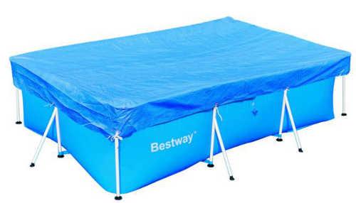 Бассейны и аксессуары для бассейнов BestWay 58105 Тент для каркасного бассейна, 259*170 см