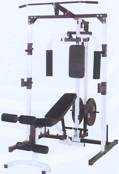 Скамьи, стойки и атлетические центры со свободной нагрузкой Sport Elit Силовая станция со свободными весами R0937