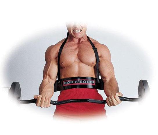Аксессуары для тяжёлой атлетики Body Solid BB23, Упор для локтей (Бицепс Бомбер) на нейлоновом ремне с неопреновой подкладкой