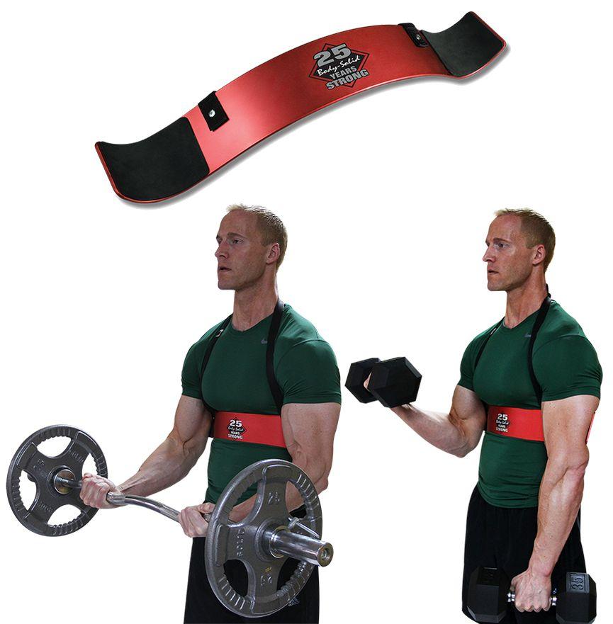 Аксессуары для тяжёлой атлетики Body Solid BB25, Бицепс Бластер (Бицепс Бомбер) для изоляции бицепса (юбилейный - Body Solid 25 лет)