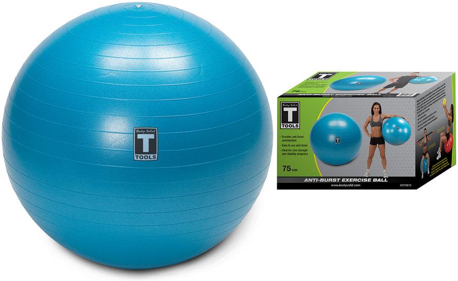 Гимнастические мячи Body Solid Гимнастический мяч, диаметр 75 см, BSTSB75