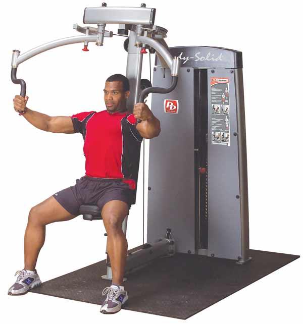 Тренажёры для мышц груди Body Solid DPEC-SF, Двухпозиционный тренажёр для грудных и дельтовидных мышц, серия Pro Dual Line