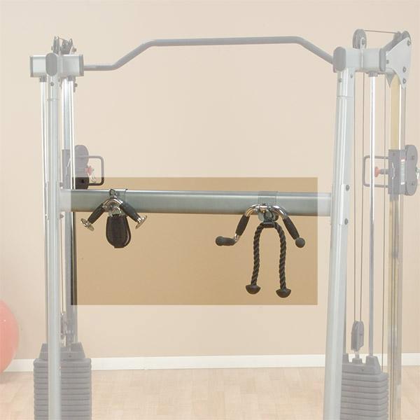 Кроссоверы и блочные стойки Body Solid GDCCRACK, Опция для кроссоверов Body Solid GDCC-200, GDCC-210, Держатель для хранения аксессуаров