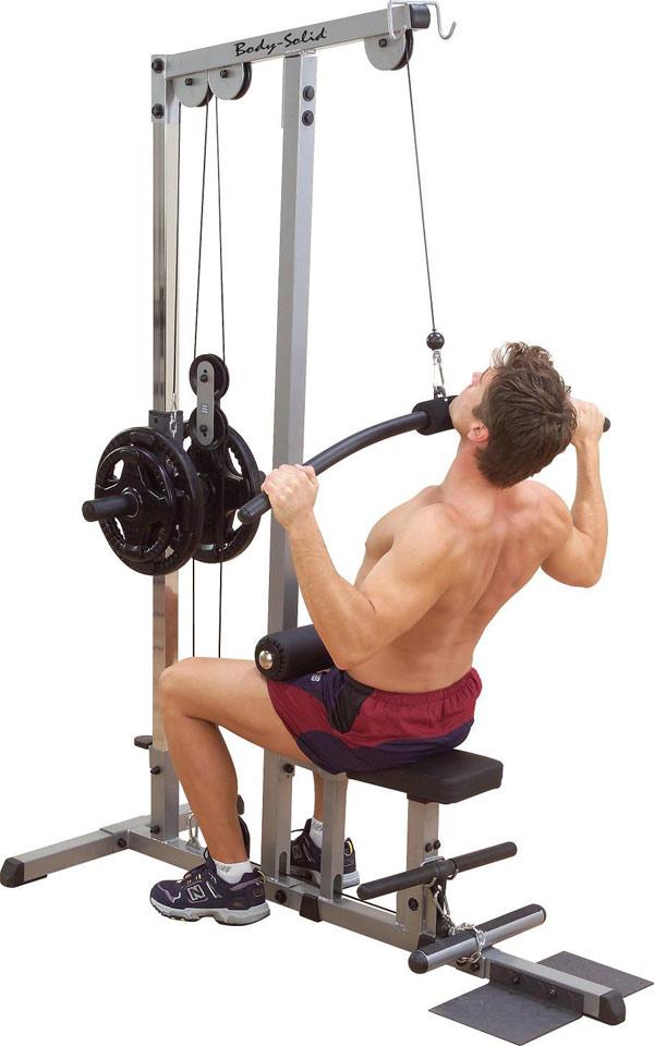 Тренажёры для мышц спины Body Solid GLM83, Тренажёр