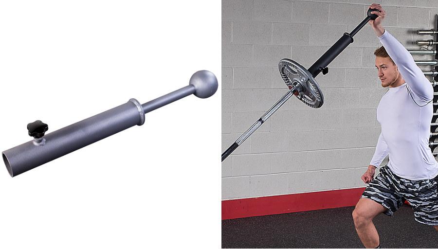 Аксессуары для тяжёлой атлетики Body Solid LMCG, Рукоятка с шаром Landmine Club Grip