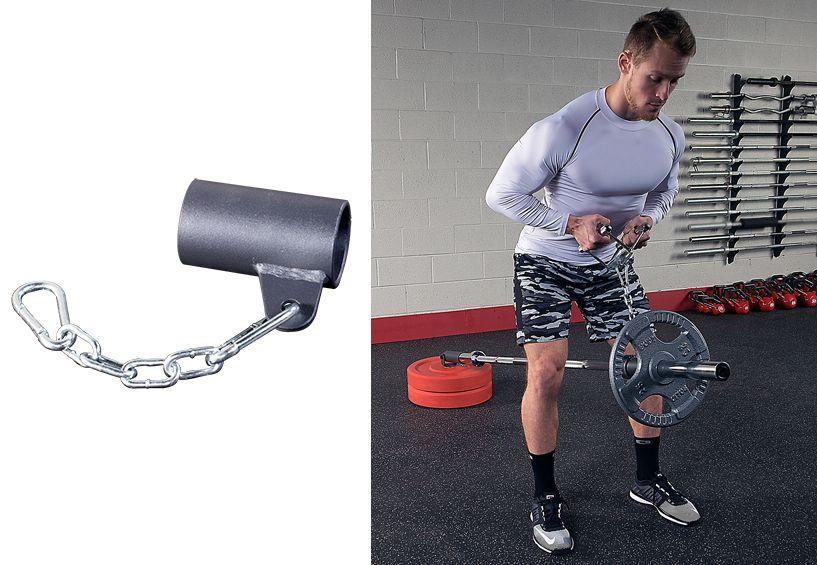 Аксессуары для тяжёлой атлетики Body Solid LMSE, Захват с цепью для грифа многофункциональный