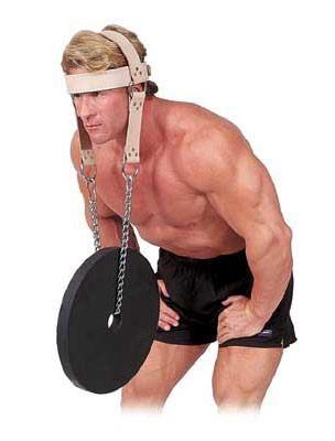 Аксессуары для тяжёлой атлетики Body Solid MA307V, Упряжь для тренировки мышц шеи (натуральная кожа)