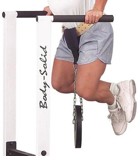 Аксессуары для тяжёлой атлетики Body Solid NB55, Нейлоновый ремень для подвешивания отягощений к поясному ремню