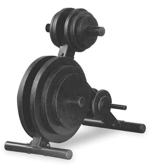Стойки под диски, грифы и штанги Body Solid OWT24, Стойка для олимпийских дисков (d=50 мм)