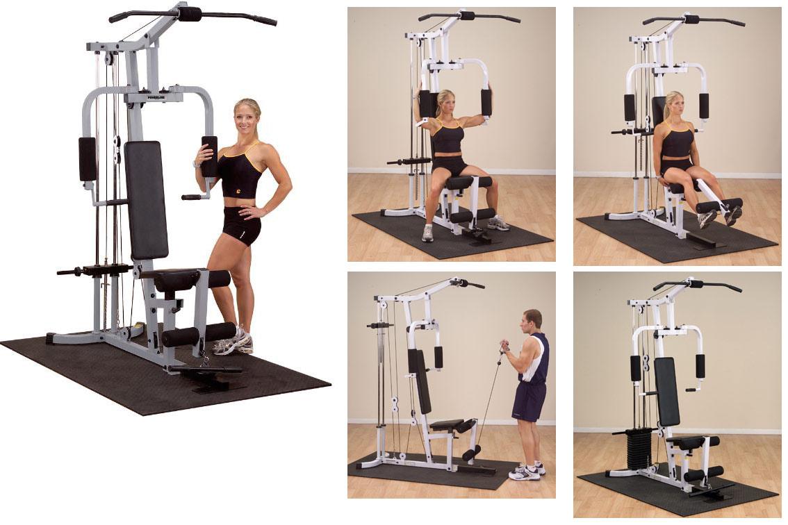 Многофункциональные тренажёры на свободных весах Body Solid PHG100X (PGH1000), Многофункциональный тренажер на свободных весах