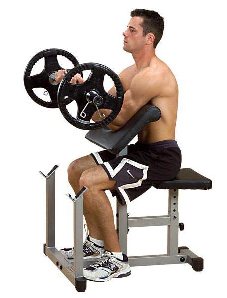 Тренажёры для мышц рук Body Solid PPB32X, Тренажёр