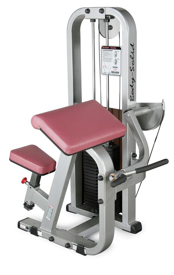 Тренажёры для мышц рук Body Solid SBC600G/2, Бицепс-машина, линия Pro Club