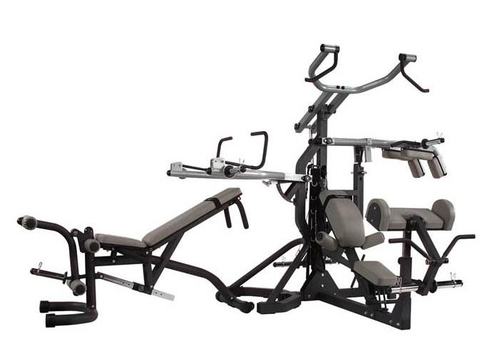 Многофункциональные тренажёры на свободных весах Body Solid SBL460, Многофункциональная станция PowerLift Freeweight Leverage Gym