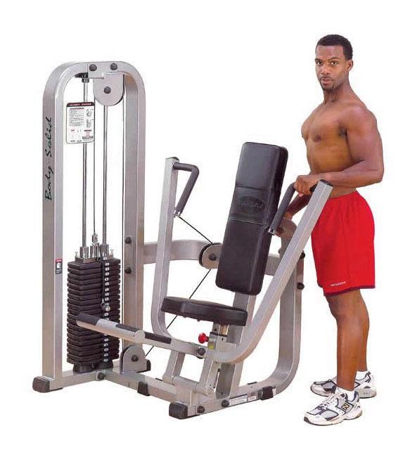Тренажёры для мышц груди Body Solid SBP100, Жим от груди, линия Pro Club