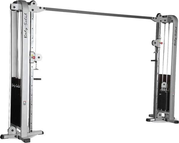 Кроссоверы и блочные стойки Body Solid SCC1200G/2, Кроссовер регулируемый с двумя весовыми стеками по 105 кг, серия Pro Club Line