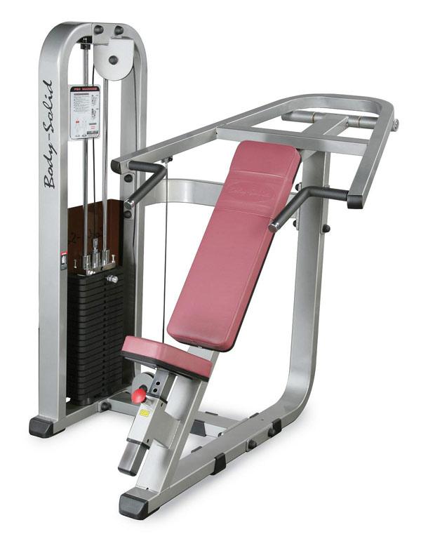 Тренажёры для мышц груди Body Solid SIP1400G, Наклонный грудной жим, линия Pro Club