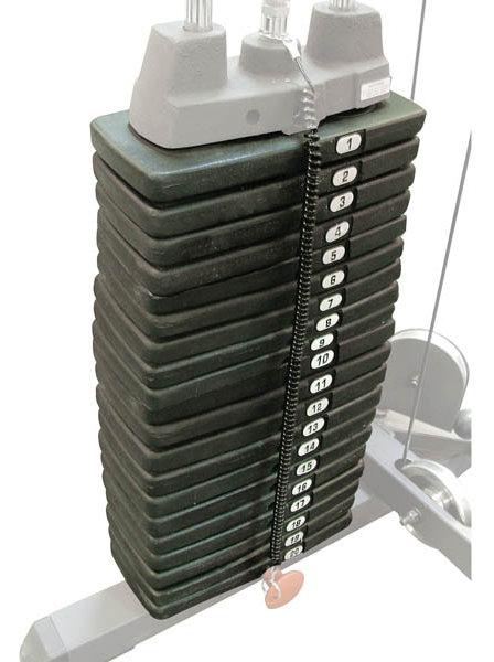 Аксессуары для тренажёров Body Solid SP200, Весовой стек 90 кг (20 плашек)