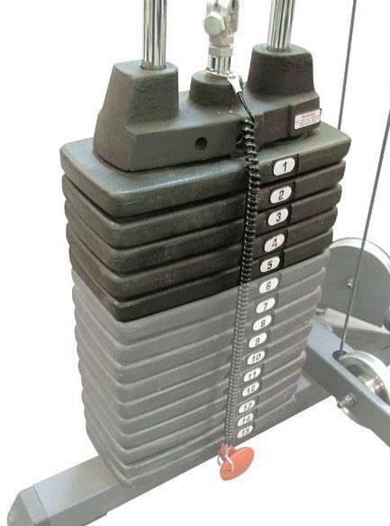 Аксессуары для тренажёров Body Solid SP50, Дополнительный вес на стек, 22,5 кг