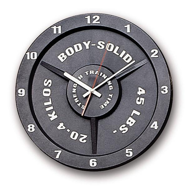 Аксессуары для тяжёлой атлетики Body Solid STT45, Часы в виде тяжелоатлетического диска