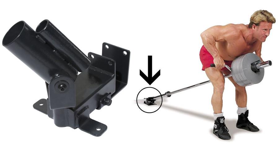 Аксессуары для тяжёлой атлетики Body Solid TBR20, Платформа двухшарнирная для фиксации грифа при T-образной тяге