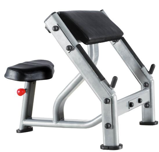 Тренажёры для мышц рук Bronze Gym J-040, Скамья Скотта