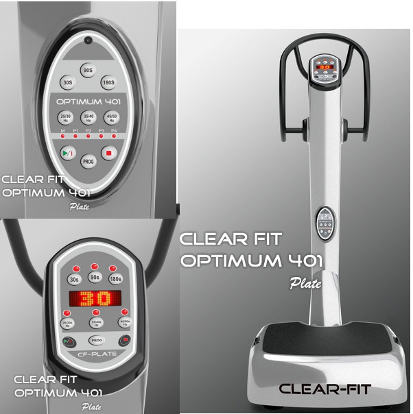 Виброплатформы Clear Fit CF-PLATE Optimum 401, Виброплатформа