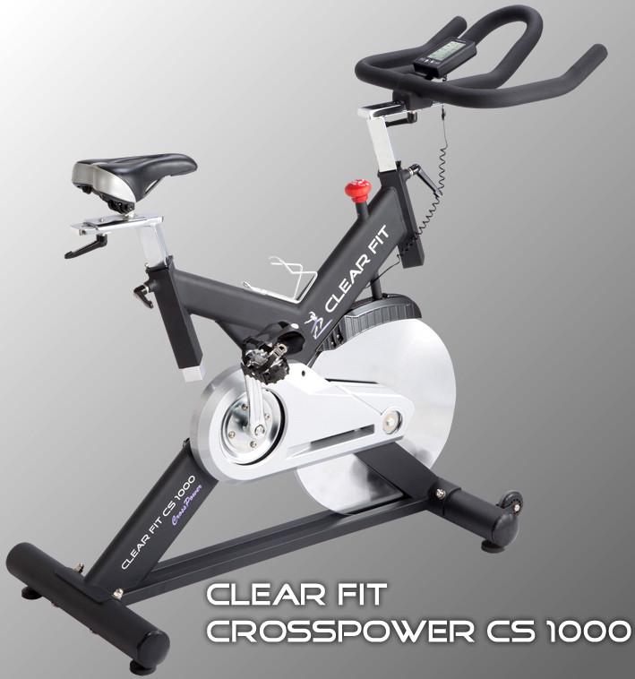 Ожидается Clear Fit CS 1000, Спинбайк, серия CrossPower