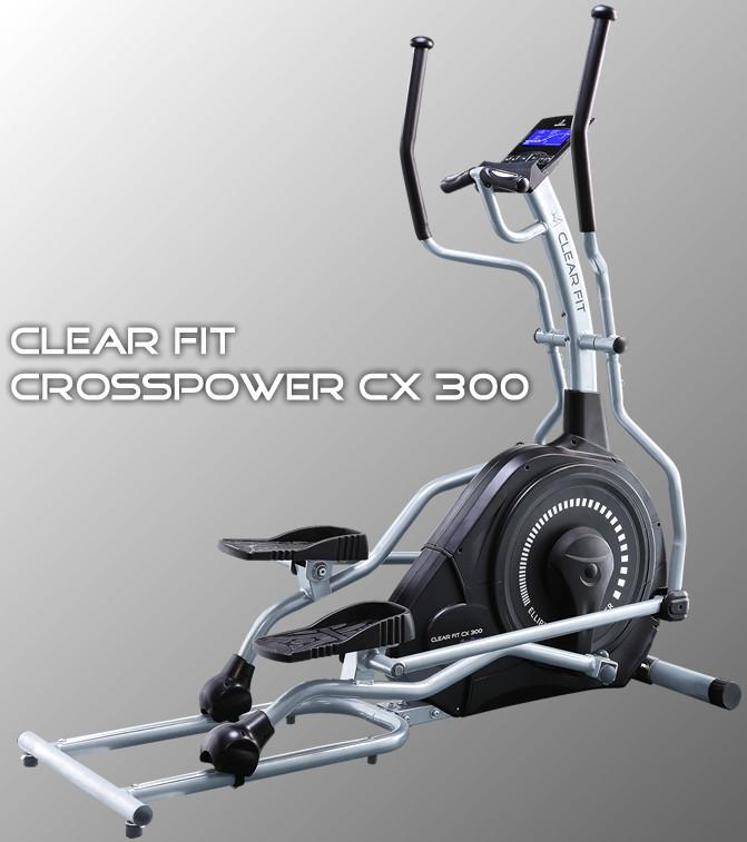 Ожидается Clear Fit CX 300, Эллиптический тренажёр электромагнитный переднеприводный, серия CrossPower