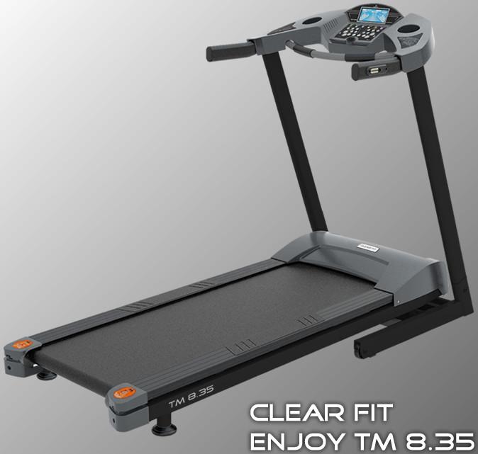 Ожидается Clear Fit TM 8.35, Беговая дорожка электрическая, серия Enjoy