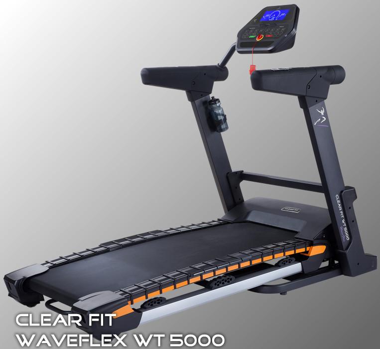 Ожидается Clear Fit WT 5000, Беговая дорожка электрическая, серия WaveFlex