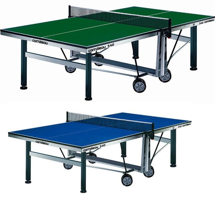Профессиональные и тренировочные теннисные столы Cornilleau 115900 (115901), Теннисный стол турнирный Компетишн 540 (Competition 540)