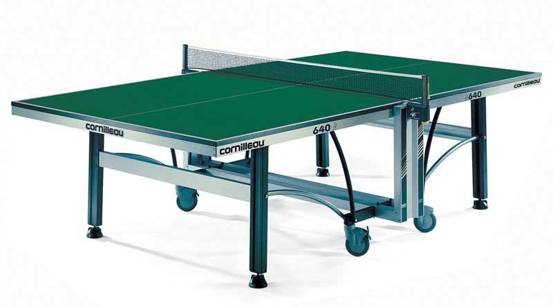 Профессиональные и тренировочные теннисные столы Cornilleau 116400 (116401), Теннисный стол турнирный Компетишн 640 (Competition 640 ITTF)