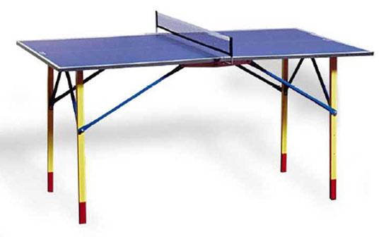 Столы для настольного тенниса небольших размеров Cornilleau 141850, Домашний теннисный стол Хобби Мини Индор (Hobby Mini Indoor) с сеткой