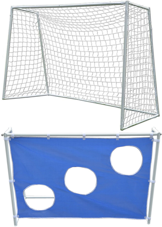 Прочее оборудование для детских площадок и игровых центров DFC Ворота футбольные игровые с тентом, GOAL180T