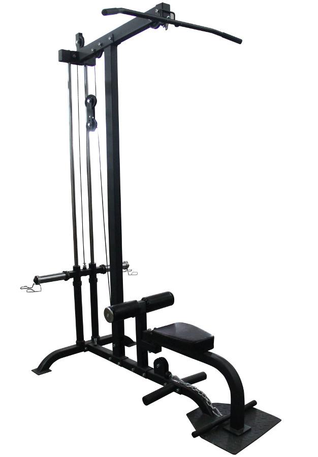 Скамьи, стойки и атлетические центры со свободной нагрузкой DFC Тяга сверху + тяга снизу PowerGym, HM020