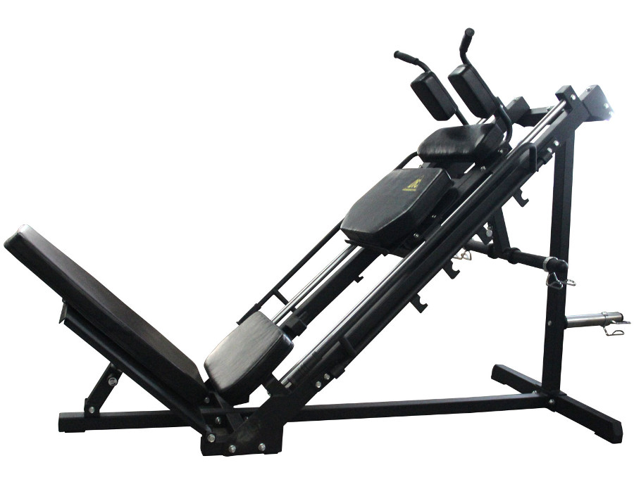 Скамьи, стойки и атлетические центры со свободной нагрузкой DFC Жим ногами PowerGym, HM028