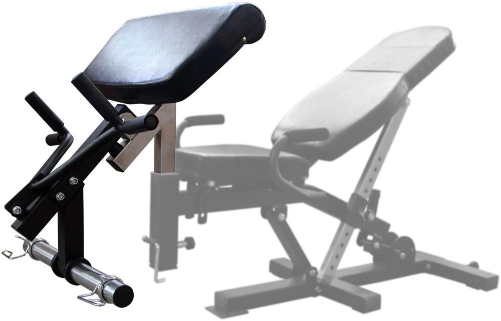 Скамьи, стойки и атлетические центры со свободной нагрузкой DFC Опция для тренажёров DFC PowerGym - Парта для бицепсов, OPTION2