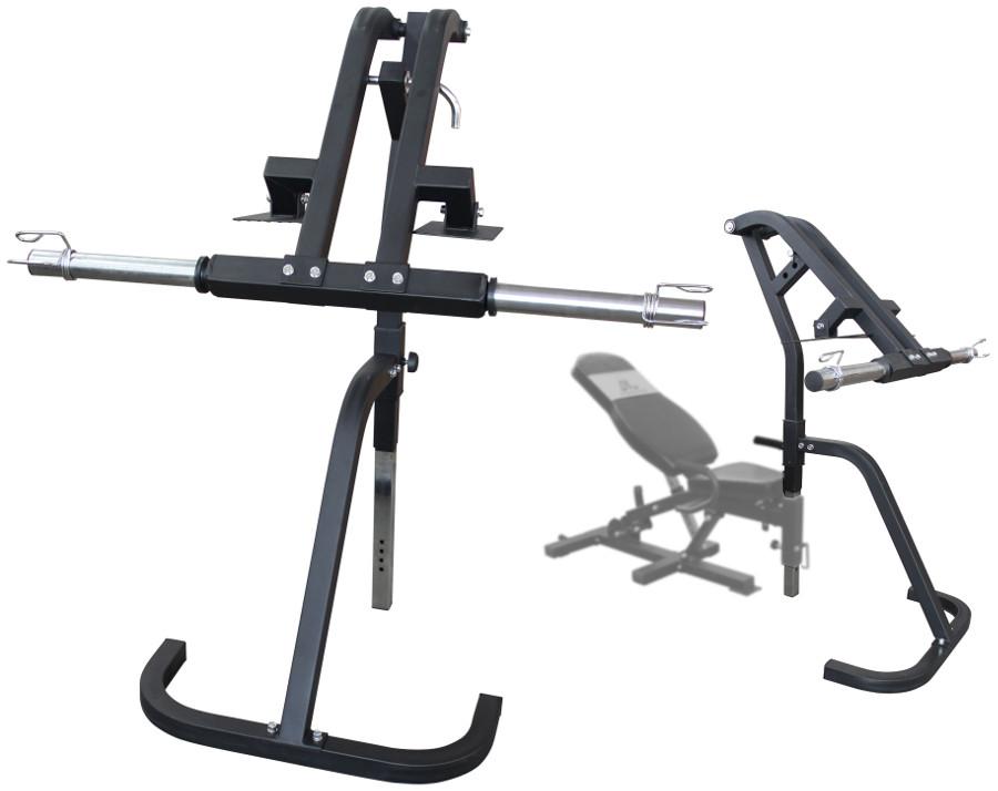 Скамьи, стойки и атлетические центры со свободной нагрузкой DFC Опция для тренажёров DFC PowerGym - Жим ногами, OPTION5