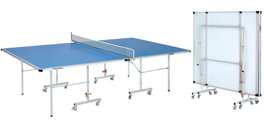 Всепогодные и влагостойкие теннисные столы DFC S600B, Теннисный стол всепогодный Tornado (синий)
