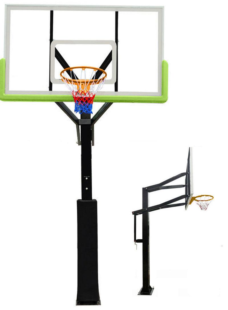 Стационарные стойки для баскетбола и стритбола DFC SBA029A, Баскетбольная стационарная стойка 72