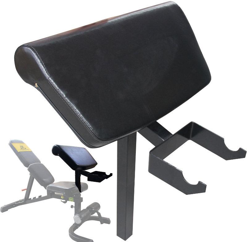Скамьи, стойки и атлетические центры со свободной нагрузкой DFC Опция для скамьи SUB018 - Парта для бицепса, SUB018.2