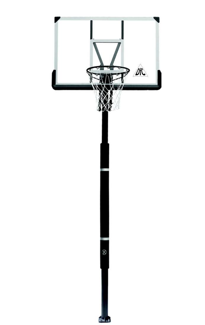 Стационарные стойки для баскетбола и стритбола DFC ZY-ING52, Баскетбольная стационарная стойка Inground, 52