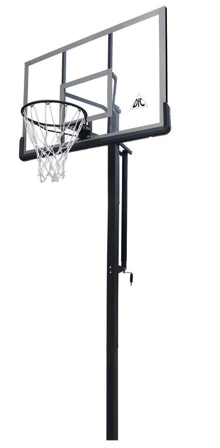 Стационарные стойки для баскетбола и стритбола DFC ZY-ING60, Баскетбольная стационарная стойка Inground, 60